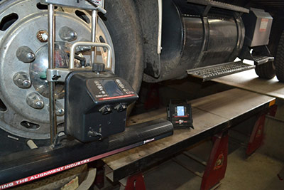 Heavy Duty Truck Aligment Servcies